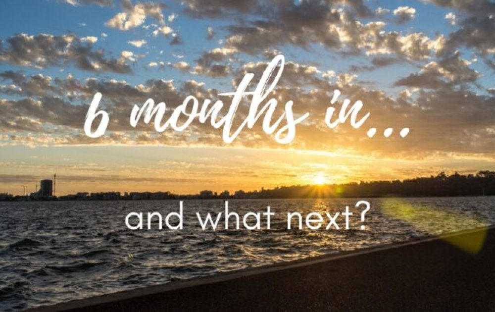 Six months in… and what next?