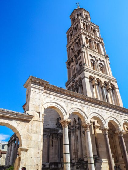 Diocletian's Palace: split croatia attractions