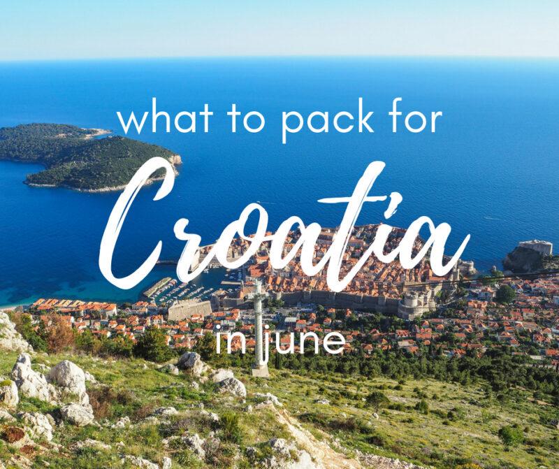 Summer Travel Capsule Wardrobe: What to Pack for Croatia in June