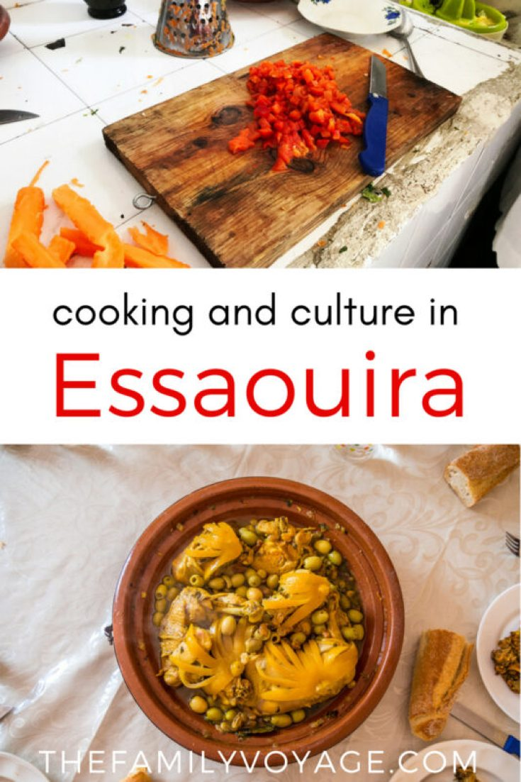 There are so many things to do in Essaouira, Morocco but taking a cooking class should be at the top of your list! Read more to find out how one Moroccan cooking class in town takes you far beyond the recipe book and into the life of a typical Moroccan family. #Morocco #Essaouira #Africa #cookingclass #travel #foodietravel #foodies