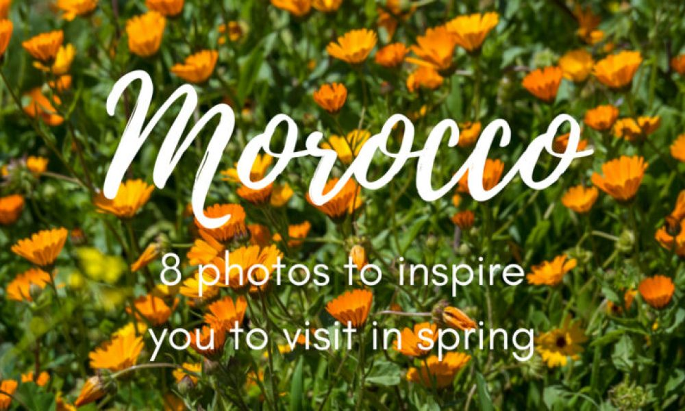 where to go in Morocco in April