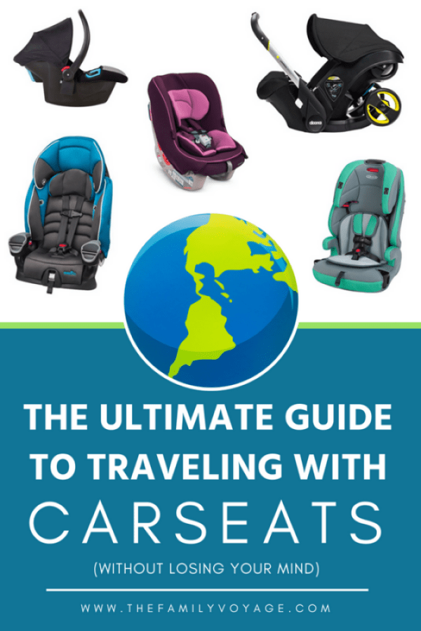 How To Travel With Car Seats Without Losing Your Cool
