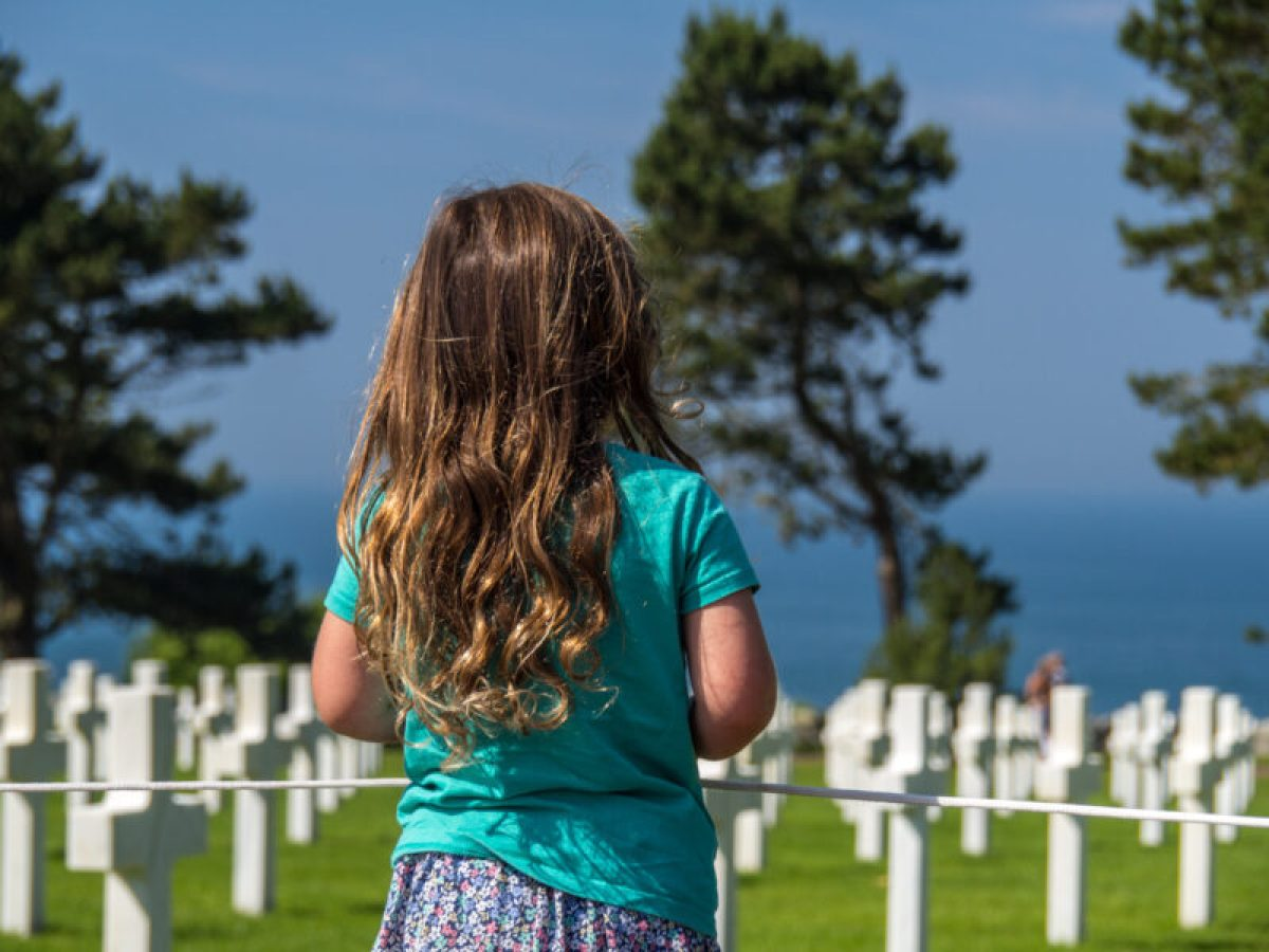 American cemetery at Omaha Beach in Normandy, France #DDay #OmahaBeach #Normandy #France #travel #familytravel