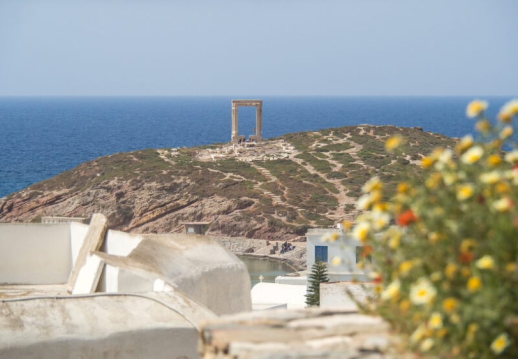 Portara on Naxos - best Greek islands for families