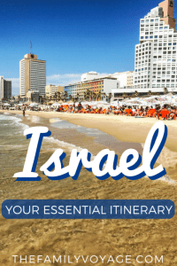 Planning a trip to Israel? You'll find the best Israel itinerary, including what to do in Jerusalem and Tel Aviv, a roadtrip to Haifa and beyond, visiting the Dead Sea and more. SAVE this pin to help you find it later! #travel #travelplanning #Israel #Jerusalem #TelAviv #Haifa #DeadSea #Masada #Negev #NorthernIsrael #SouthernIsrael #familytravel #itinerary #travelinspiration