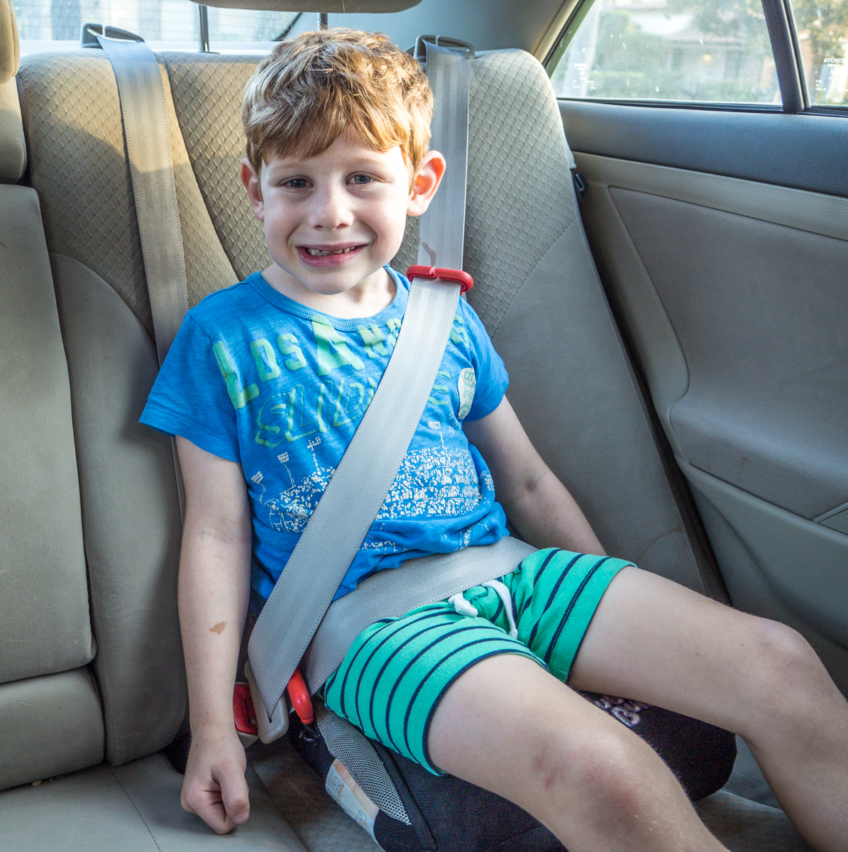 Bubblebum is the best travel booster seat because it gives a great, consistent belt fit in nearly every car