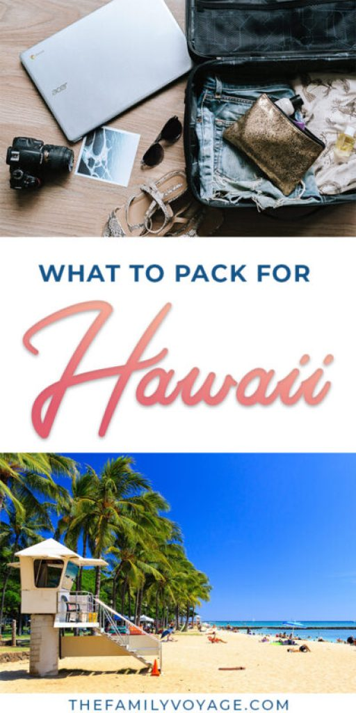 The Minimalist Hawaii Packing List For Female Travelers The Family Voyage
