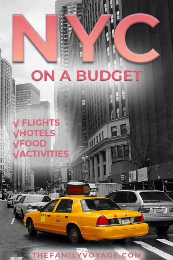 Trying to plan to trip to New York on a budget? We have amazing money-saving tips for NYC from how to get there, how to save money on hotels, where to find cheap eats in NYC and saving money on the best things to do in NYC travel. #NYC #NewYork #budgettravel #frugal #travel