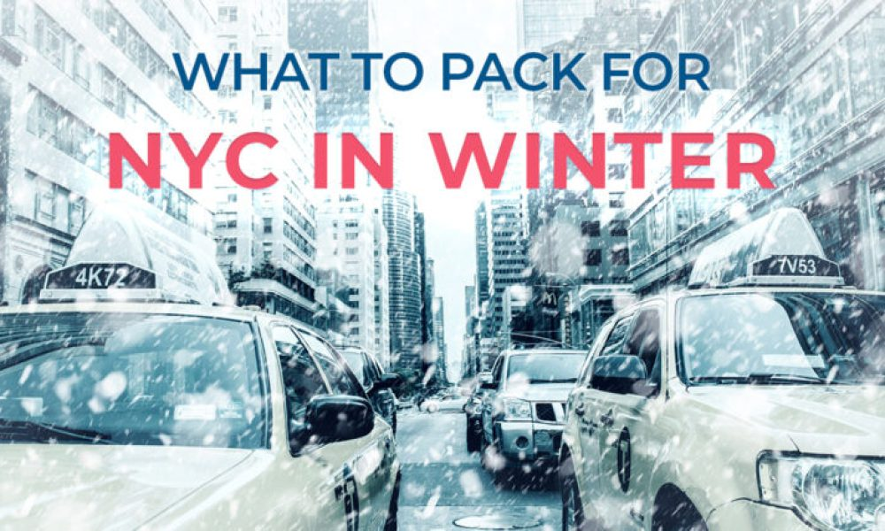 Your New York packing list for winter