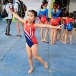 Yesha's gymnastics classes at Club Gymnastica Pasig