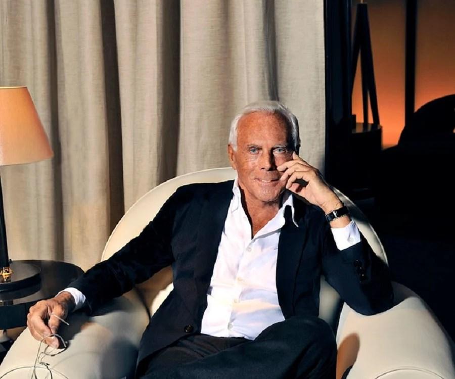 Giorgio Armani Biography  Childhood Life Achievements