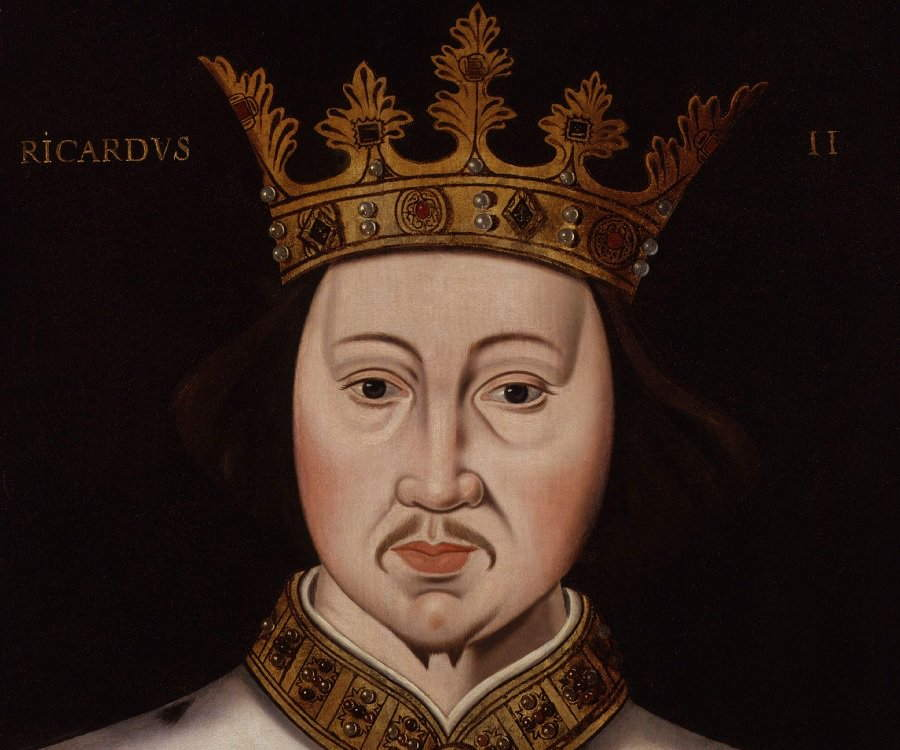 Richard II Of England Biography Childhood Life