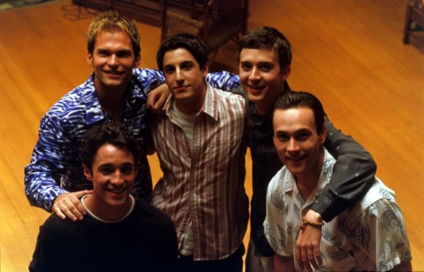 Chris Klein,Eddie Kaye Thomas,Jason Biggs,Seann William Scott,Thomas Ian Nicholas