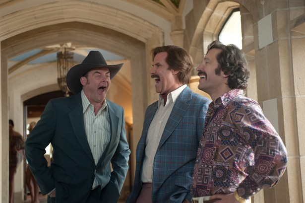 David Koechner,Paul Rudd,Will Ferrell