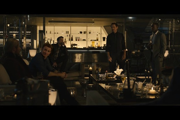 Chris Evans, Don Cheadle, Jeremy Renner, Robert Downey Jr.