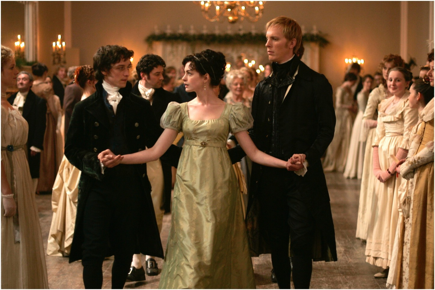 Anne Hathaway,James McAvoy,Laurence Fox