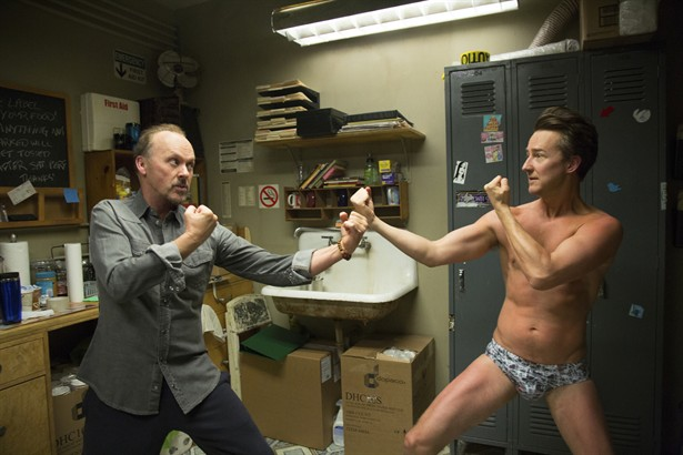 Edward Norton,Michael Keaton