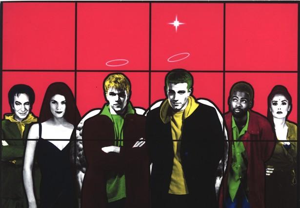 Alan Rickman,Ben Affleck,Chris Rock,Linda Fiorentino,Matt Damon,Salma Hayek