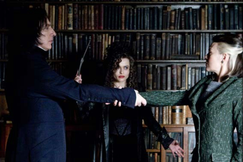 Alan Rickman,Helen McCrory,Helena Bonham Carter