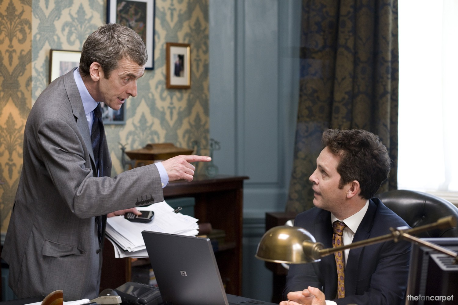 Peter Capaldi,Tom Hollander