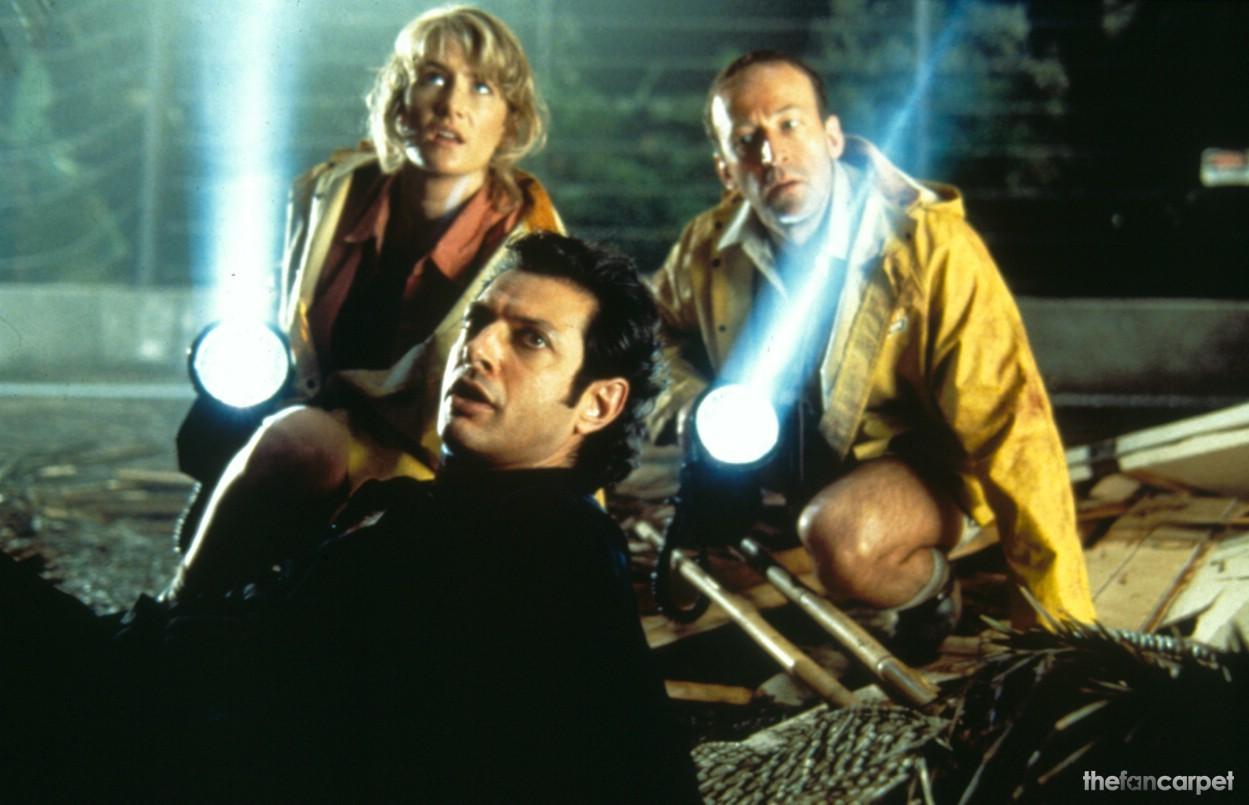 Jeff Goldblum,Laura Dern,Sam Neill