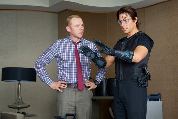 Simon Pegg,Tom Cruise
