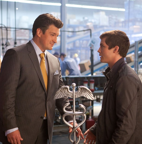 Logan Lerman,Nathan Fillion