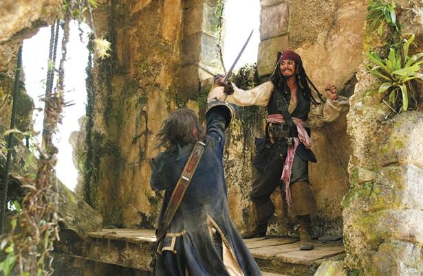 Jack Davenport,Johnny Depp