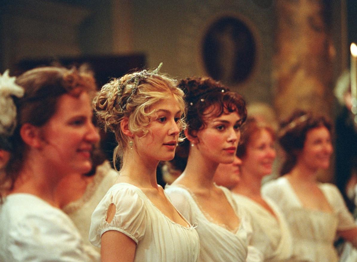 Keira Knightley,Rosamund Pike