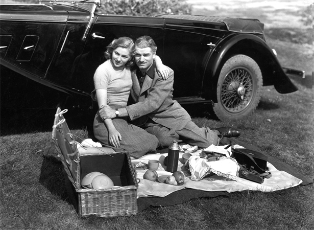 Joan Fontaine,Laurence Olivier