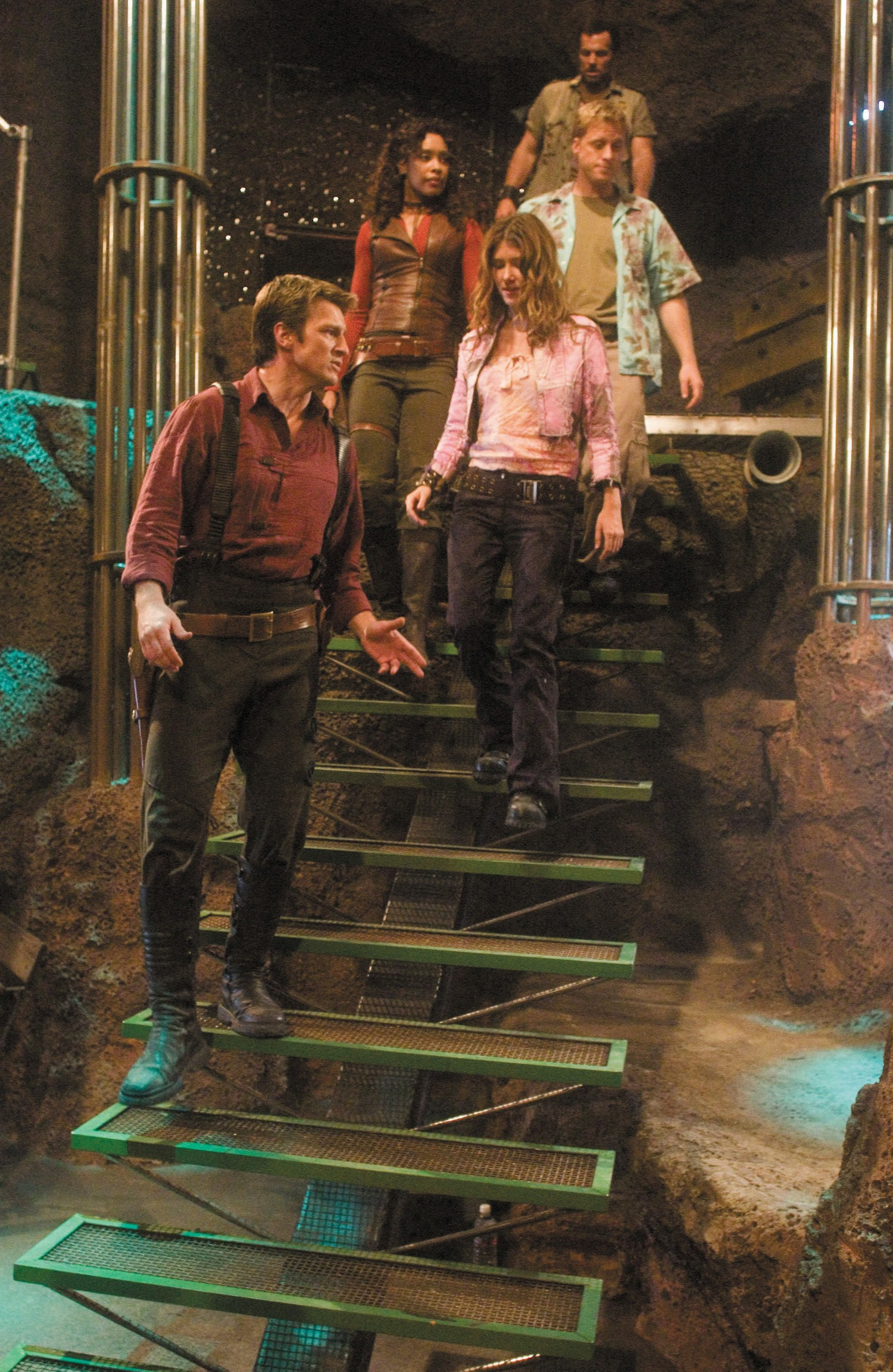 Adam Baldwin,Alan Tudyk,Gina Torres,Jewel Staite,Nathan Fillion