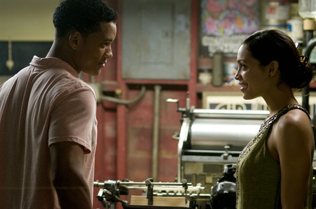 Rosario Dawson,Will Smith