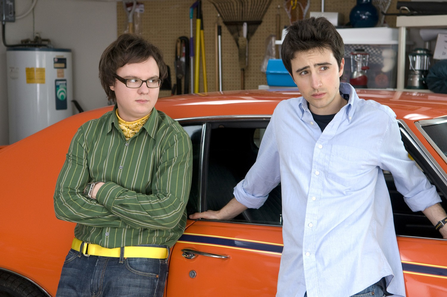 Clark Duke,Josh Zuckerman