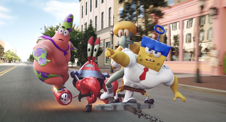 Spongebob Squarepants Movie: Sponge Out Of Water 3D
