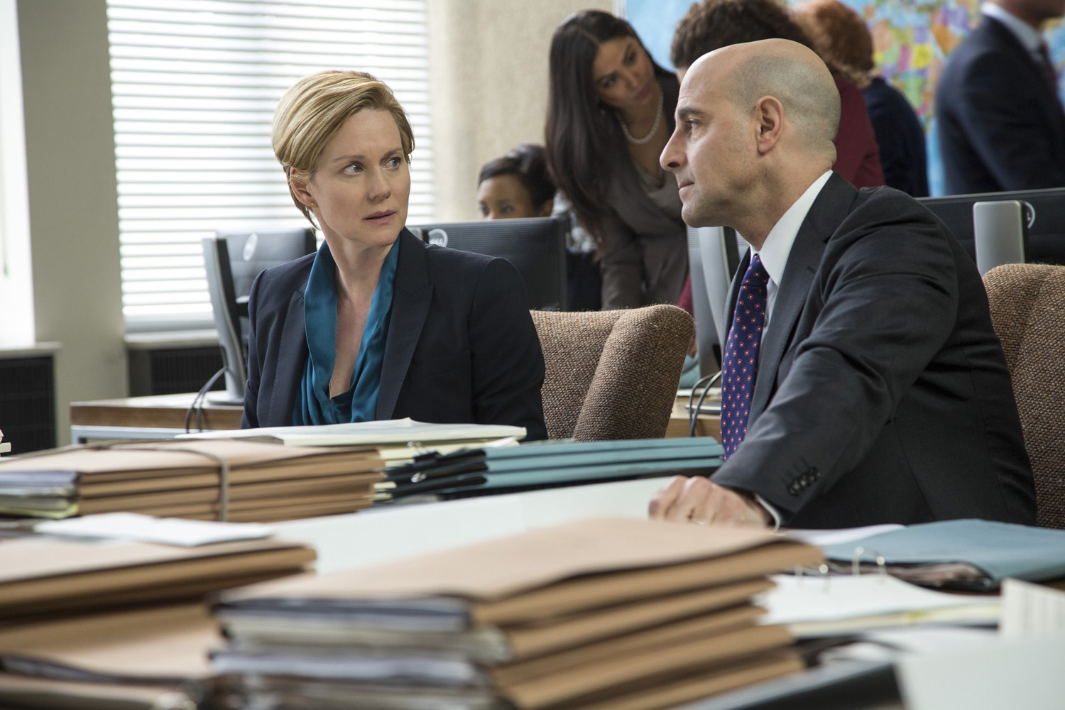 Laura Linney,Stanley Tucci