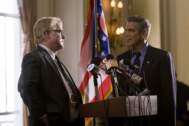 George Clooney,Philip Seymour Hoffman