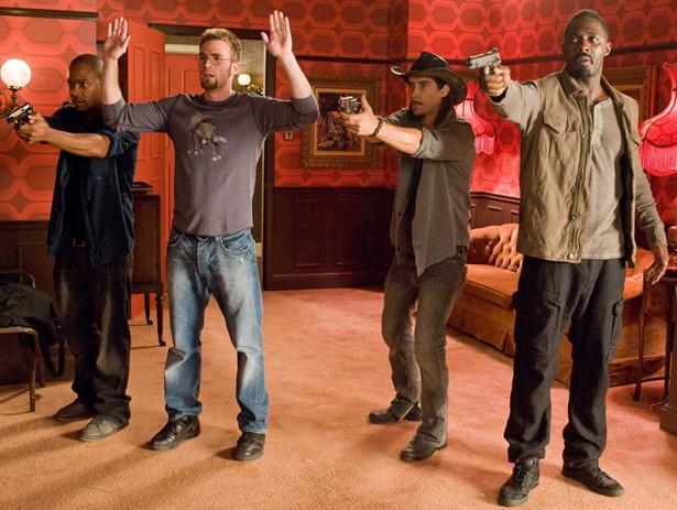 Chris Evans,Columbus Short,Idris Elba