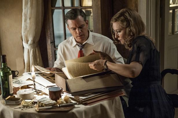 Cate Blanchett,Matt Damon