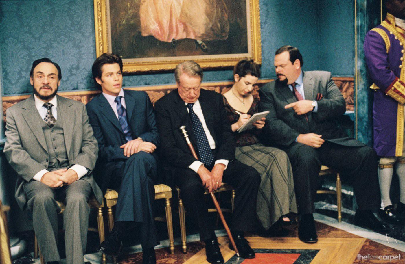 Chris Pine,Heather Matarazzo,John Rhys-Davies,Tom Poston