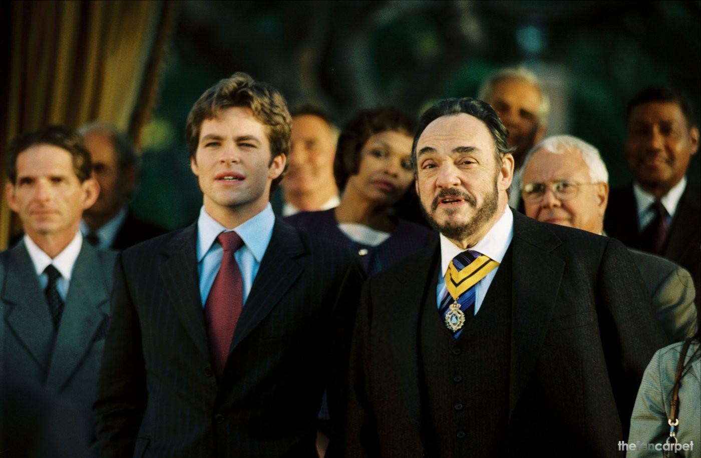 Chris Pine,John Rhys-Davies