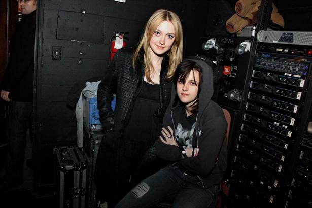 Dakota Fanning,Kristen Stewart