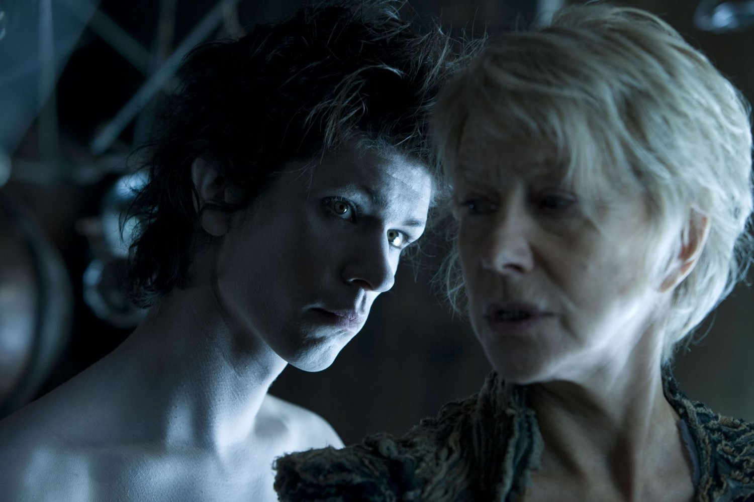 Ben Whishaw,Helen Mirren