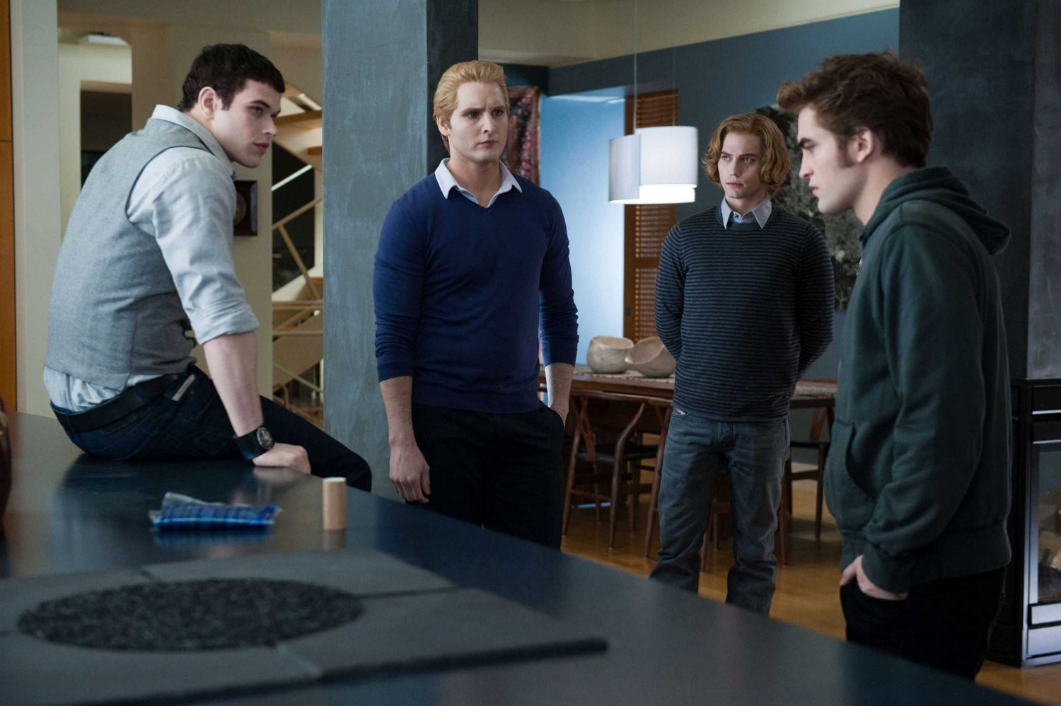 Jackson Rathbone,Kellan Lutz,Peter Facinelli,Robert Pattinson