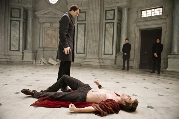 Daniel Cudmore,Robert Pattinson