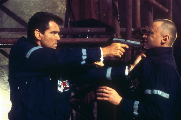Pierce Brosnan,Robbie Coltrane