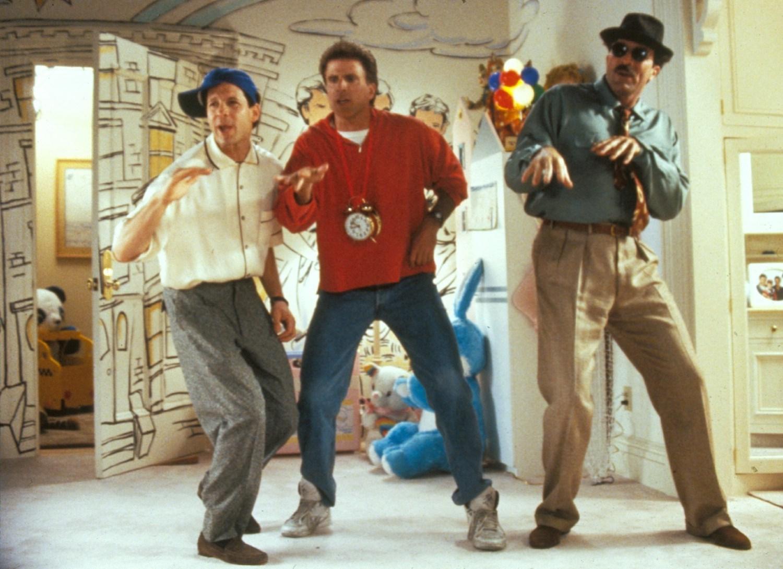 Steve Guttenberg,Ted Danson,Tom Selleck