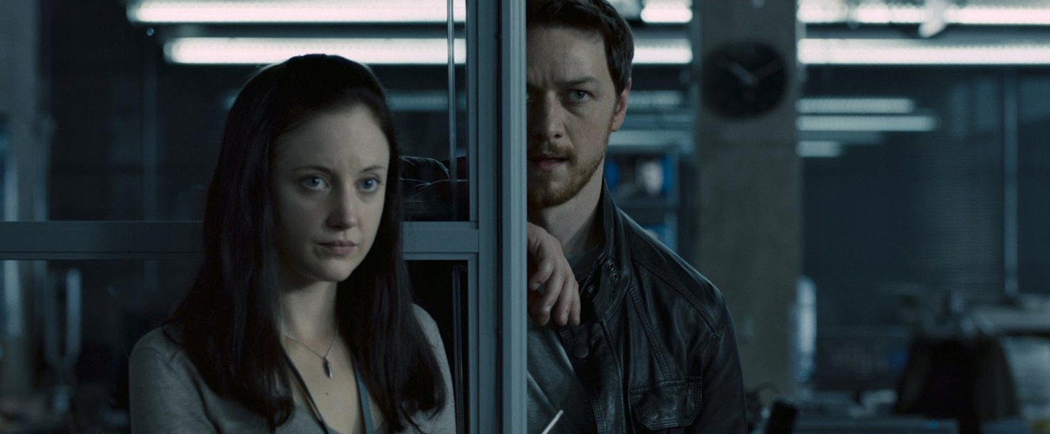 Andrea Riseborough,James McAvoy