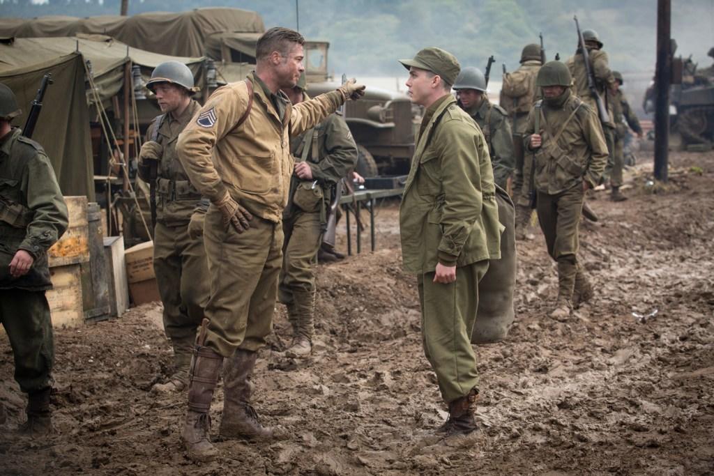 Brad Pitt, Logan Lerman