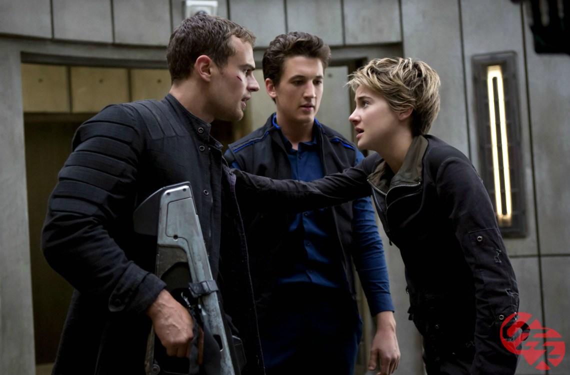 Shailene Woodley, Theo James, Miles Teller