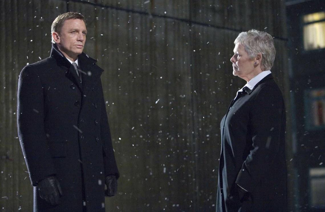 Daniel Craig, Judi Dench